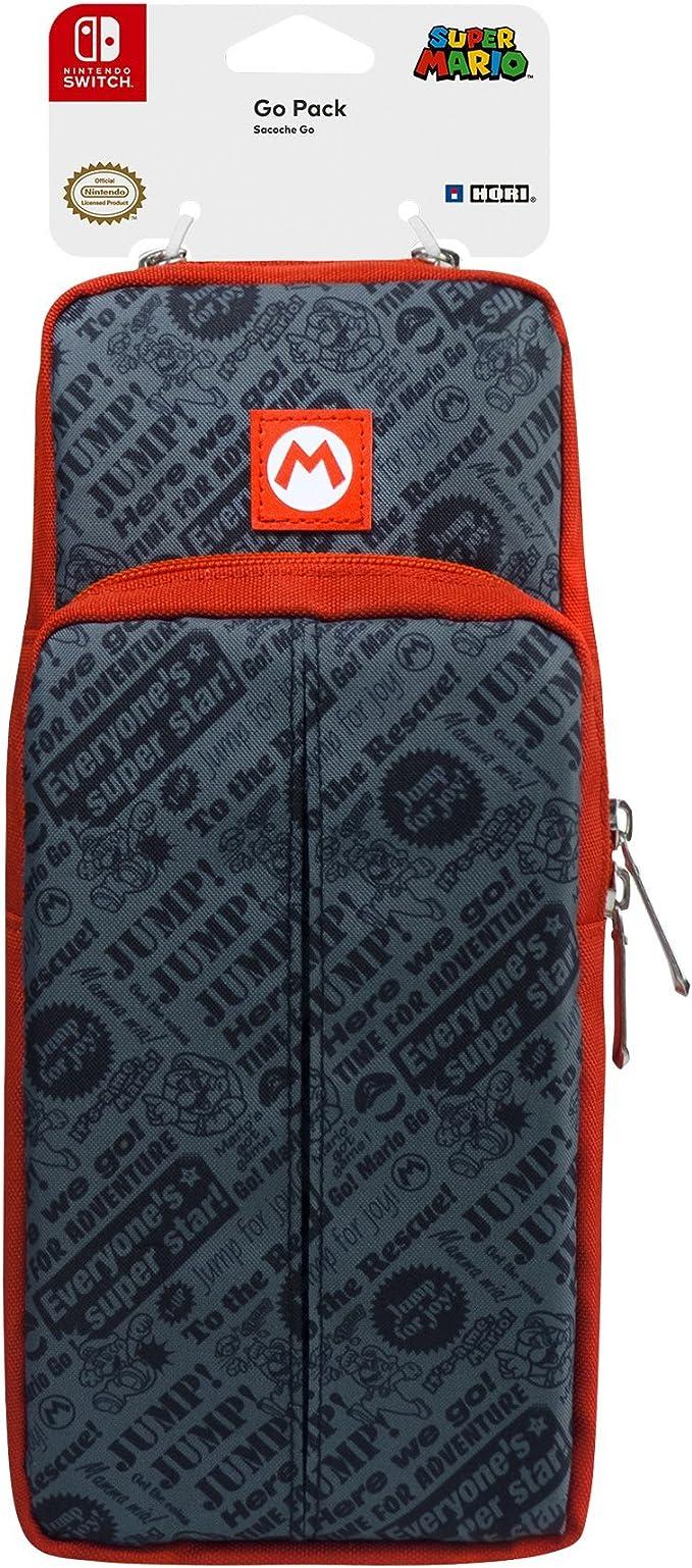 Hori - Go Pack (Super Mario) (Nintendo Switch): Amazon.es: Videojuegos