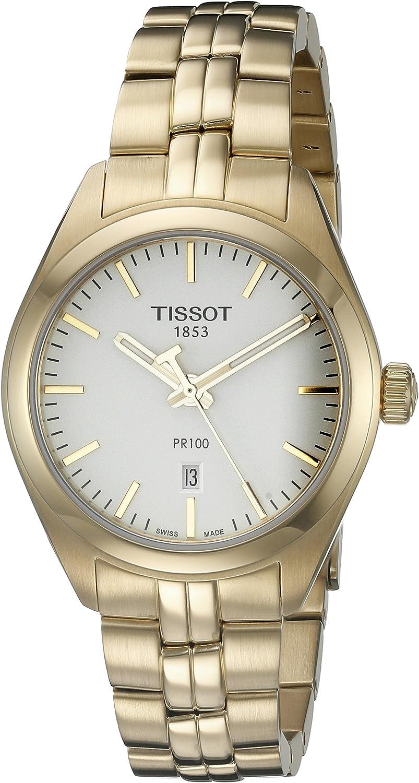 Tissot Reloj de mujer cuarzo correa y caja de acero T1012103303100