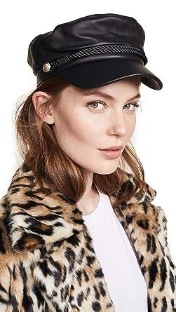 1c9da8554a1 Hat Attack Women s Leather Emmy Cap
