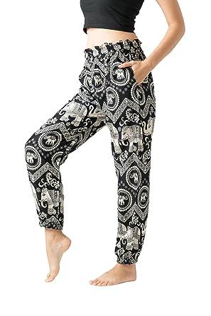 edae2b3f14514 Bangkokpants Harem Pants Plus Size Hippie Clothes - S M L XL - Women Boho  Clothing Petite (
