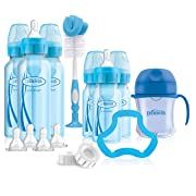 Dr. Brown's Options+ Baby Bottles Gift Set, Blue