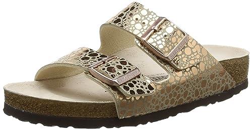 64889f9d698 Birkenstock Women s Arizona Open Toe Sandals  Amazon.co.uk  Shoes   Bags