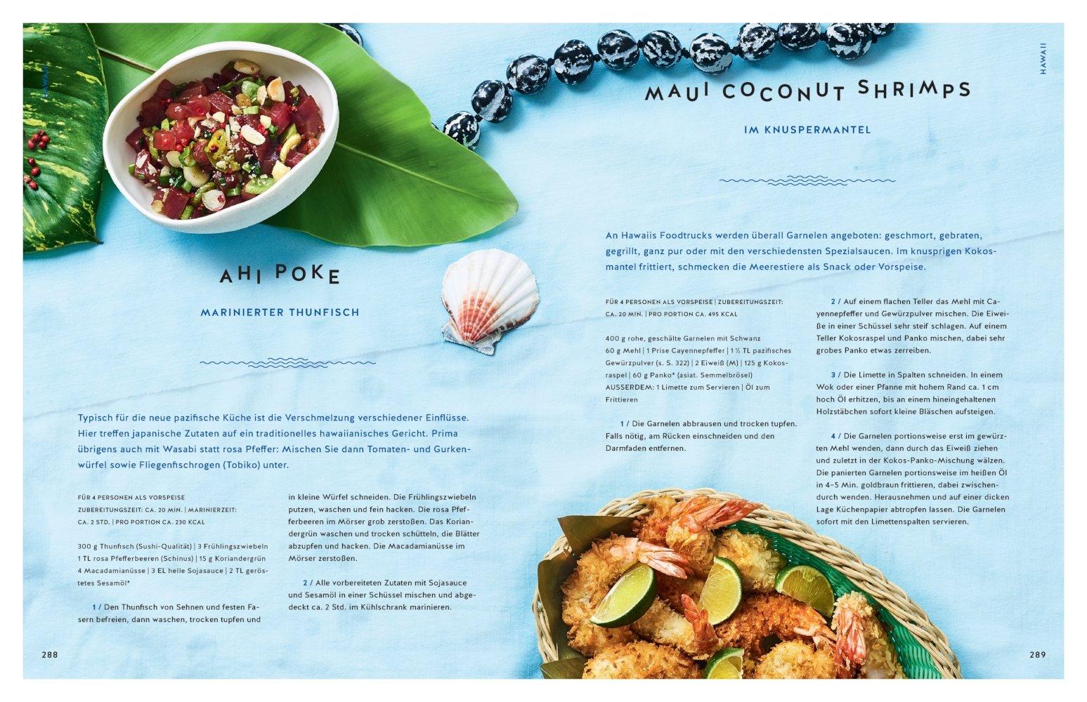 Pacific Food: Das Reisekochbuch rund um den Pazifik - von Hongkong ...