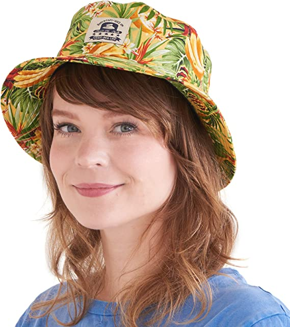 Top Hats Summer Lightweight Bucket Hat Elephant Cute Friend Reversible Outdoor Hats Hiking Fishing Picnic Caps for Teens Fisherman