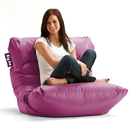 Big Joe Roma Bean Bag Chair Pink Passion