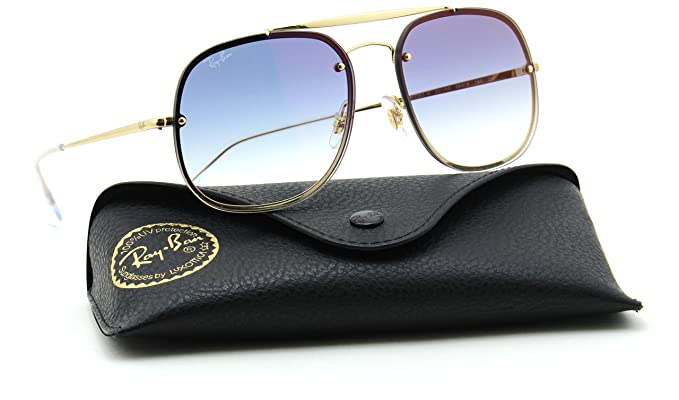 3086d904b8 Image Unavailable. Image not available for. Color  Ray-Ban RB3548N 001 X0 BLAZE  GENERAL Gradient Sunglasses