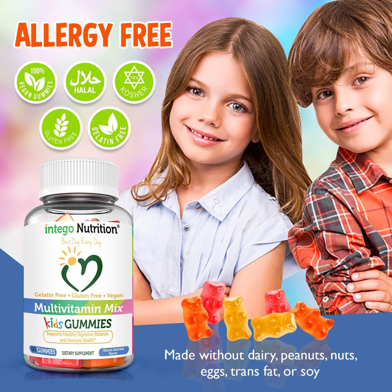 Kids Multivitamin Gummies | Gluten-Free Chewable Vitamins ...