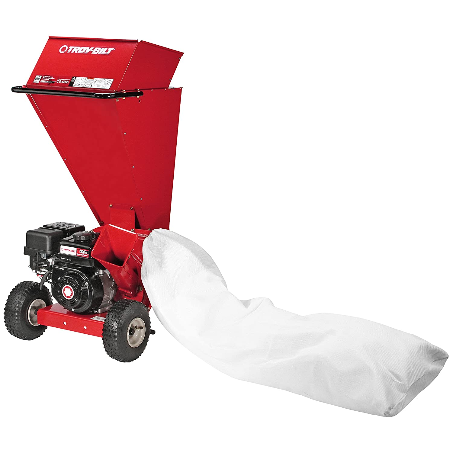 troy bilt chipper shredder vac reviews