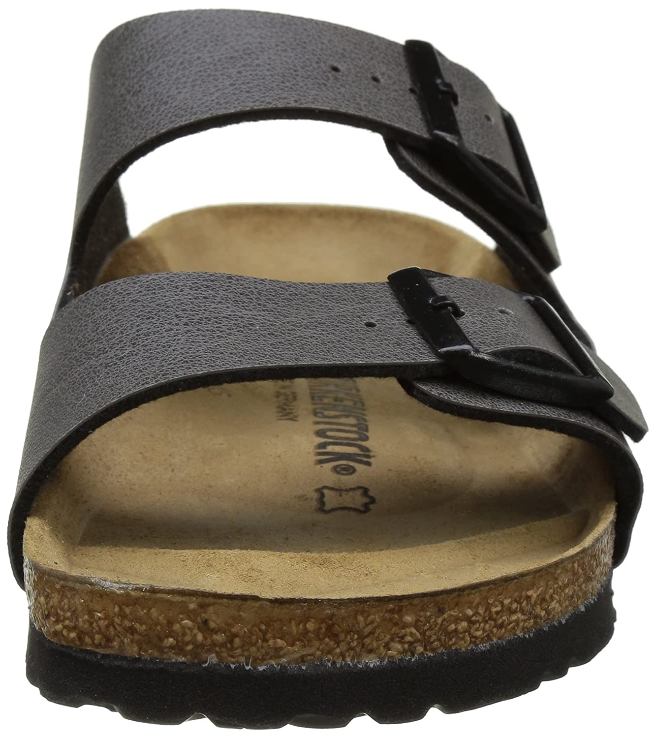 Birkenstock Arizona Anthracite Womens Leather Sandals Shoes B01FI0SJE0 40 EU (Narrow)|Pull Up Anthracite