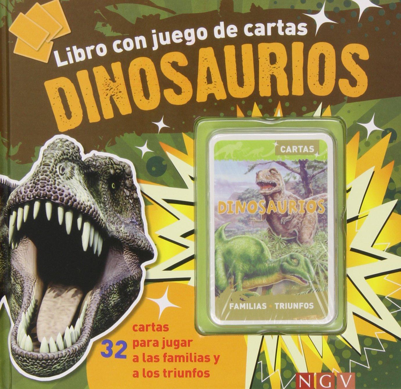 DINOSAURIOS.(LIBRO CON JUEGO DE CARTAS): 9783862339921 ...