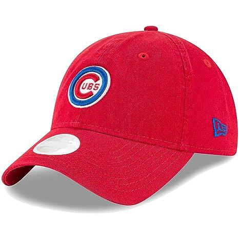 brand new e3da1 dad9b ... netherlands chicago cubs new era womens core classic twill team color  9twenty adjustable hat red 8f317