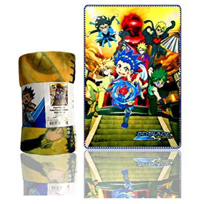 A_Beyblade Blanket,Children Blanket Sublimation Polar Fleece,Official Licenced: Home & Kitchen