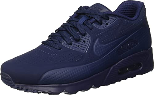 Nike Air Max 90 Ultra Moire, Baskets Homme, Bleu Midnight