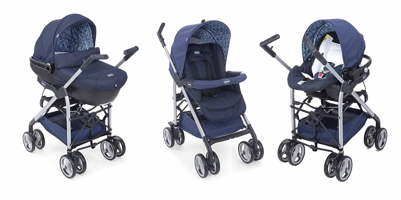 Chicco Sprint - Carrito trío, color azul: Amazon.es: Bebé