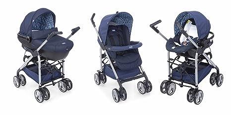 Chicco Sprint - Carrito trío, color azul