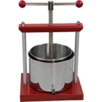 OZ BCP 6.0 Litre Fruit Press also for pressing apple/pear/wine/cider/cheese/grape