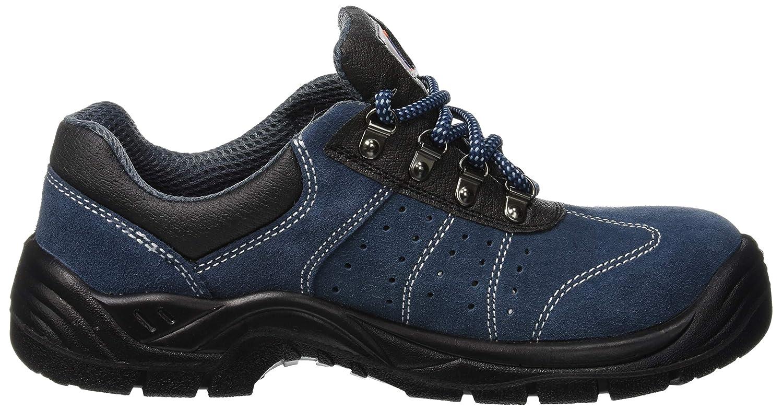 Calzado de protecci/ón de Piel para Hombre Azul Azul 5 UK Steelite