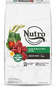 NUTRO Natural Choice Adult Dry Dog Food, Lamb & Venison