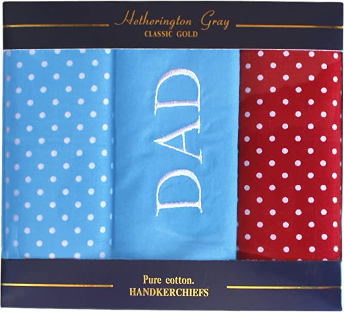 NEW LADIES 3 MULTI-PACK BOXED HANDKERCHIEF GIFT SET 100/% COTTON *2 COLOURS*