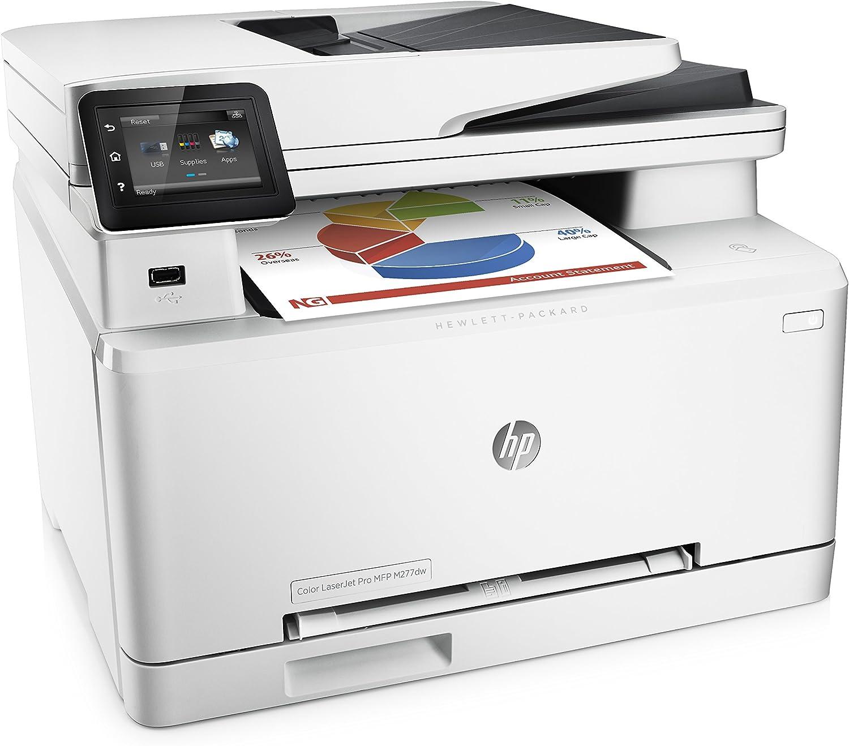 HP Laserjet Pro M277dw Wireless All-in-One Color Printer, Amazon Dash Replenishment Ready (B3Q11A)