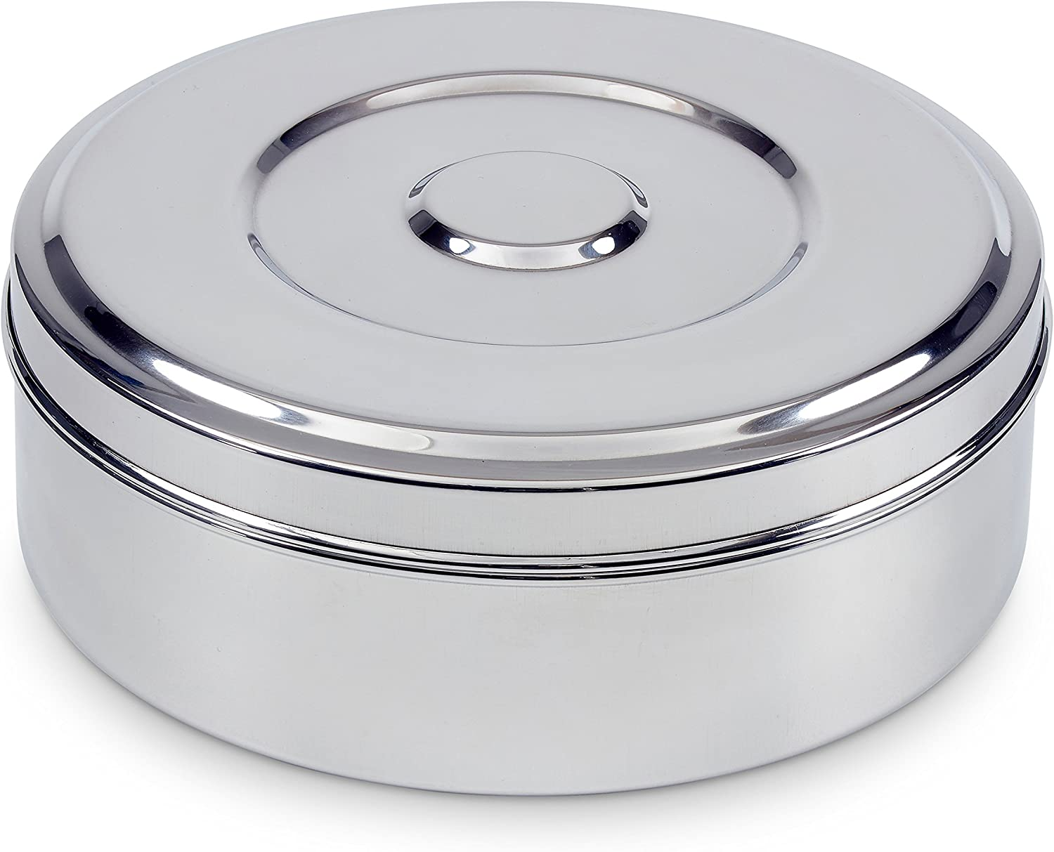 Spice Container - Steel, 7 seperate compartments, airtight