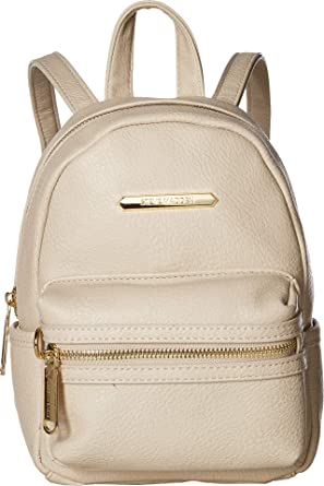 dc2727aa9ec Amazon.com: Steve Madden Women's Bbailey Core Backpack Bone One Size:  Clothing