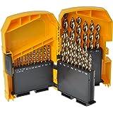 DeWalt DT7926-XJ - Tough Case grande con 29 brocas para metal Extreme 2, Ø 1 - 13mm