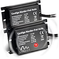 Gardigo 784052 Ultrasoon Marterverjager, Aansluiting op de 12V auto-accu, 2 Stuks