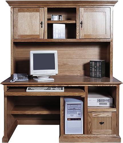 Forest Designs Mission Computer Desk Hutch