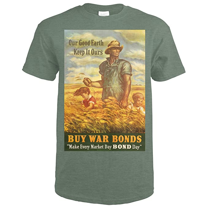 56fd5e84 Amazon.com: Buy War Bonds Vintage Poster (Artist: Curry, John ...