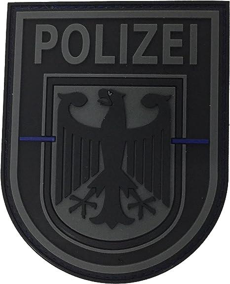 Thin Blue Line Special Edition Patch jtg /ärmelabzeichen Polic/ía Federal Blackops