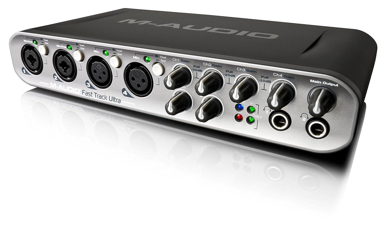 Amazon.com: M-Audio Fast Track Ultra Interfaz de audio W ...
