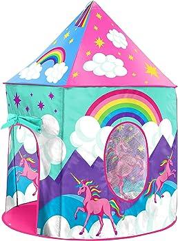 USA Toyz Easy To Assemble Play Tent Unicorn Toys