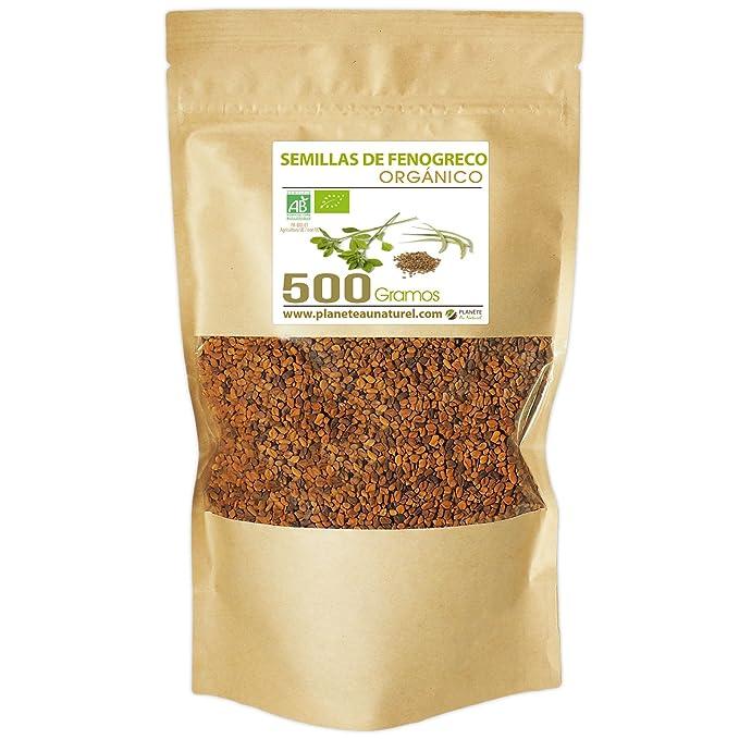 Semillas de Fenogreco Orgánico - 500g - Trigonnella foenum-graecum ...