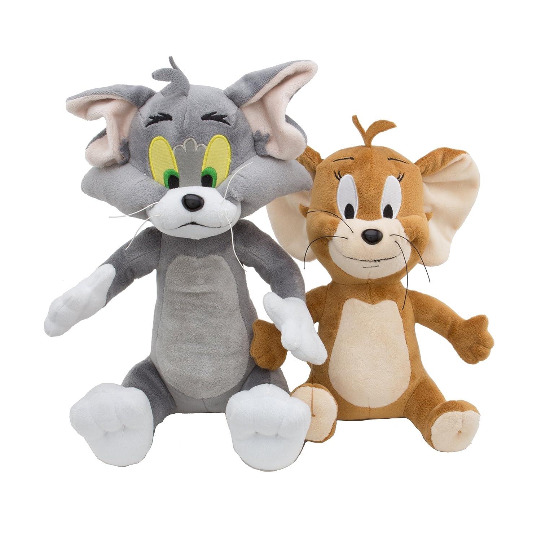 Hanna-Barbera Tom y Jerry Deluxe - Juego de Peluches: Amazon.es: Juguetes y juegos