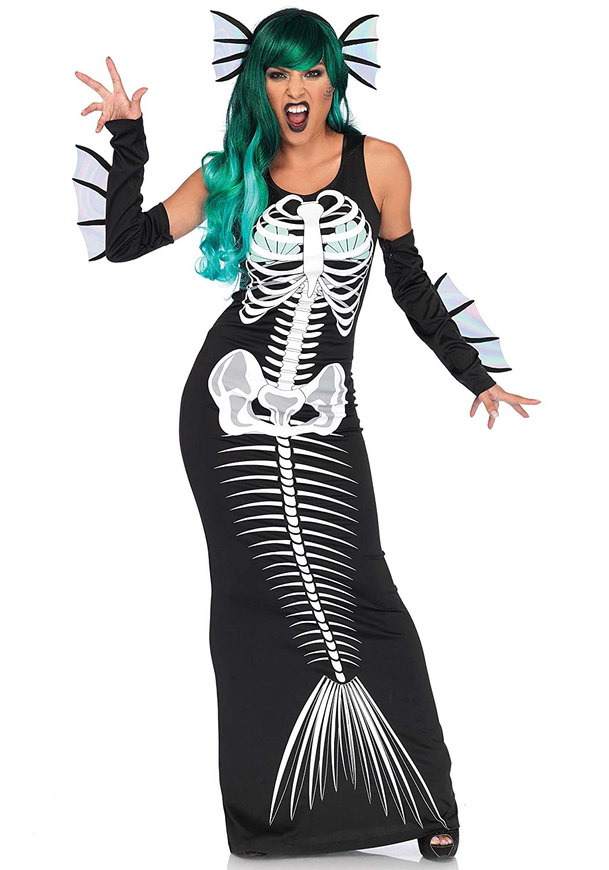 Leg Avenue Skeleton Siren Kostüm, schwarz , Größe  Medium (EUR 38 40) B06ZZB9JCM Kostüme Schön und charmant     | Verkauf Online-Shop