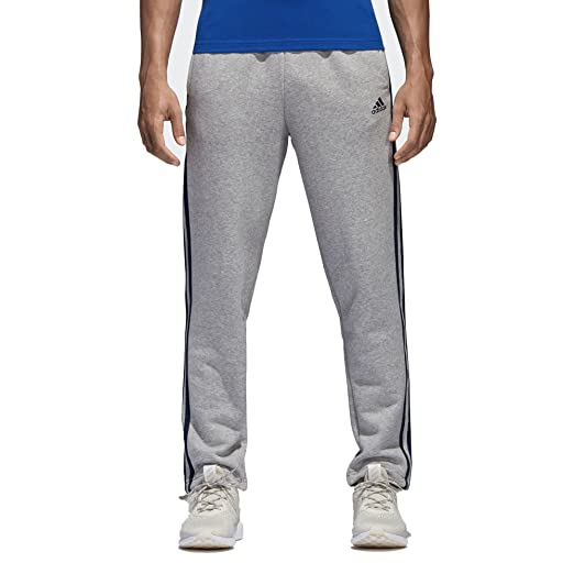 5726a79cd adidas Essentials 3-Stripes Fleece Pants at Amazon Men s Clothing store