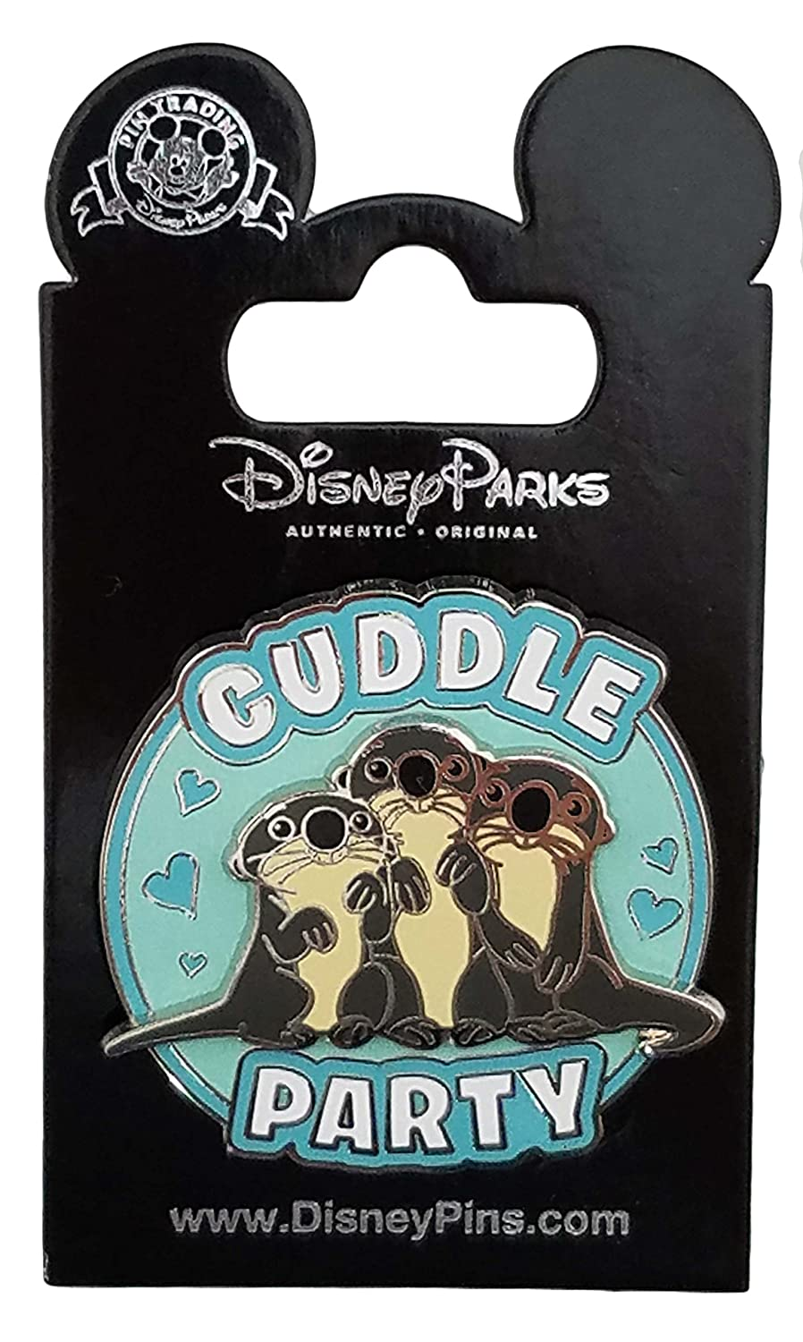 Disney Parks Finding Dory Otters Cuddle Party Disney Pin New