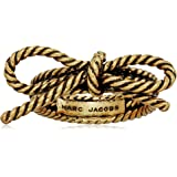 Marc by Marc Jacobs MARC JACOBS Rope Bow Antique Silver Ring, Size 6