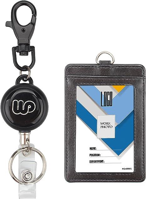 Amazon.com: Wisdompro, sujetador de documento de identidad ...