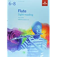 Flute Sight-Reading Tests, ABRSM Grades 6-8: from 2018 (ABRSM Sight-reading)