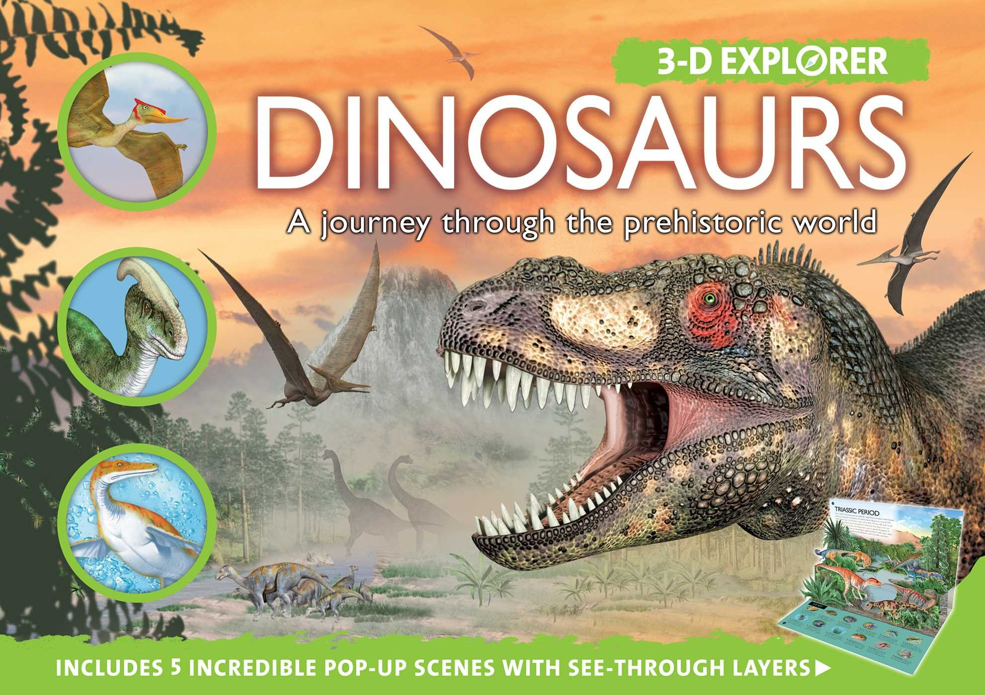 3-D Explorer: Dinosaurs Hardcover – April 10, 2010 Barbara Taylor Silver Dolphin Books 1607101467 FBA-|305417