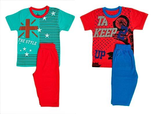 984ef18ca0 Pavigan Baby Unisex Cotton Half Sleeve Round Neck T-Shirt Top and ...