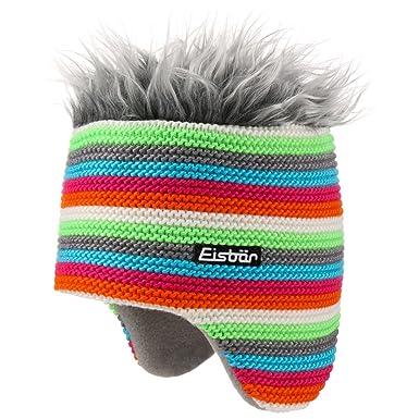df6e3d60848 Eisbär Funky Cocker Knit Hat wool beanie knit beanie (One Size - white)