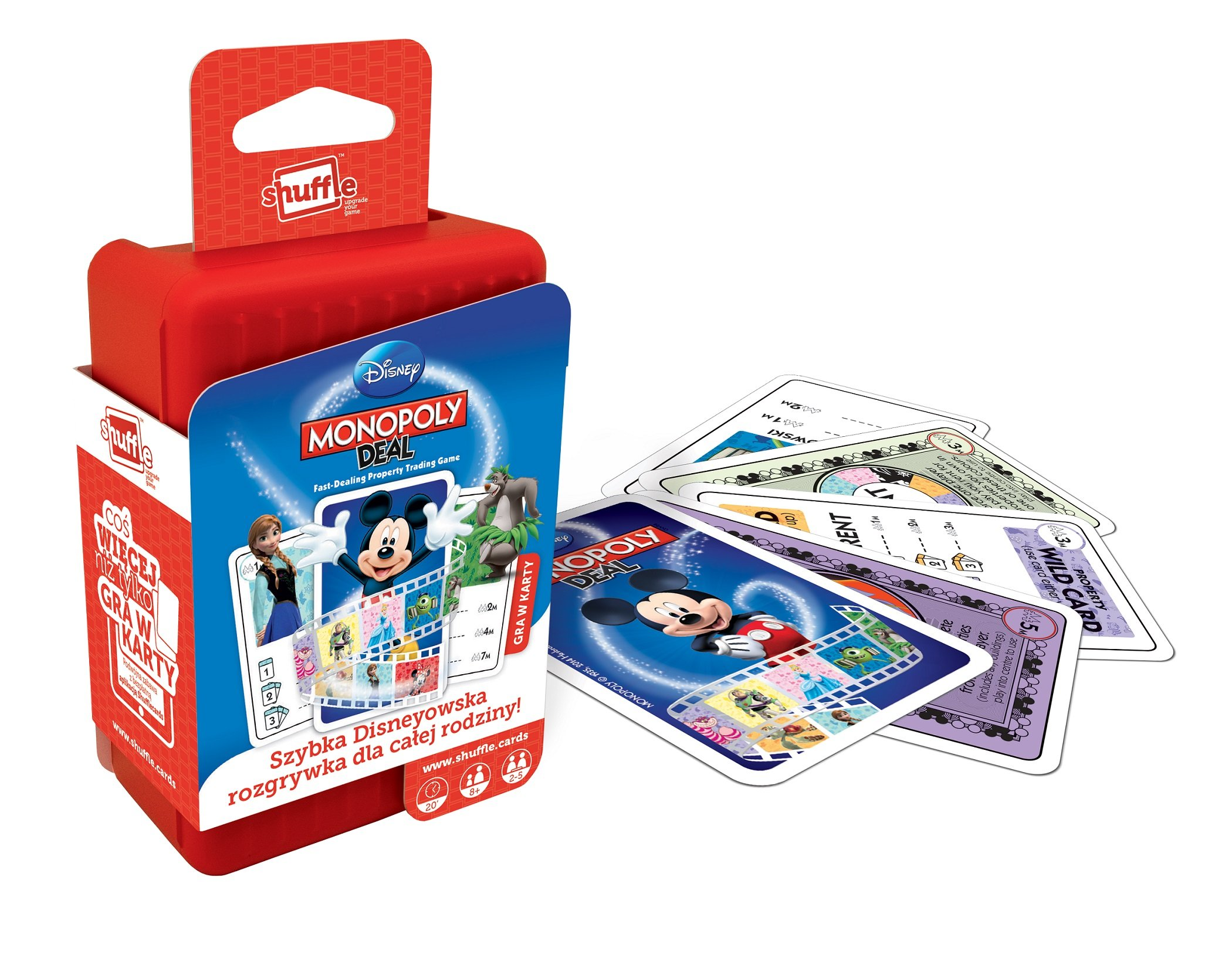 Monopoly Deal Disney: Amazon.es: Libros en idiomas extranjeros