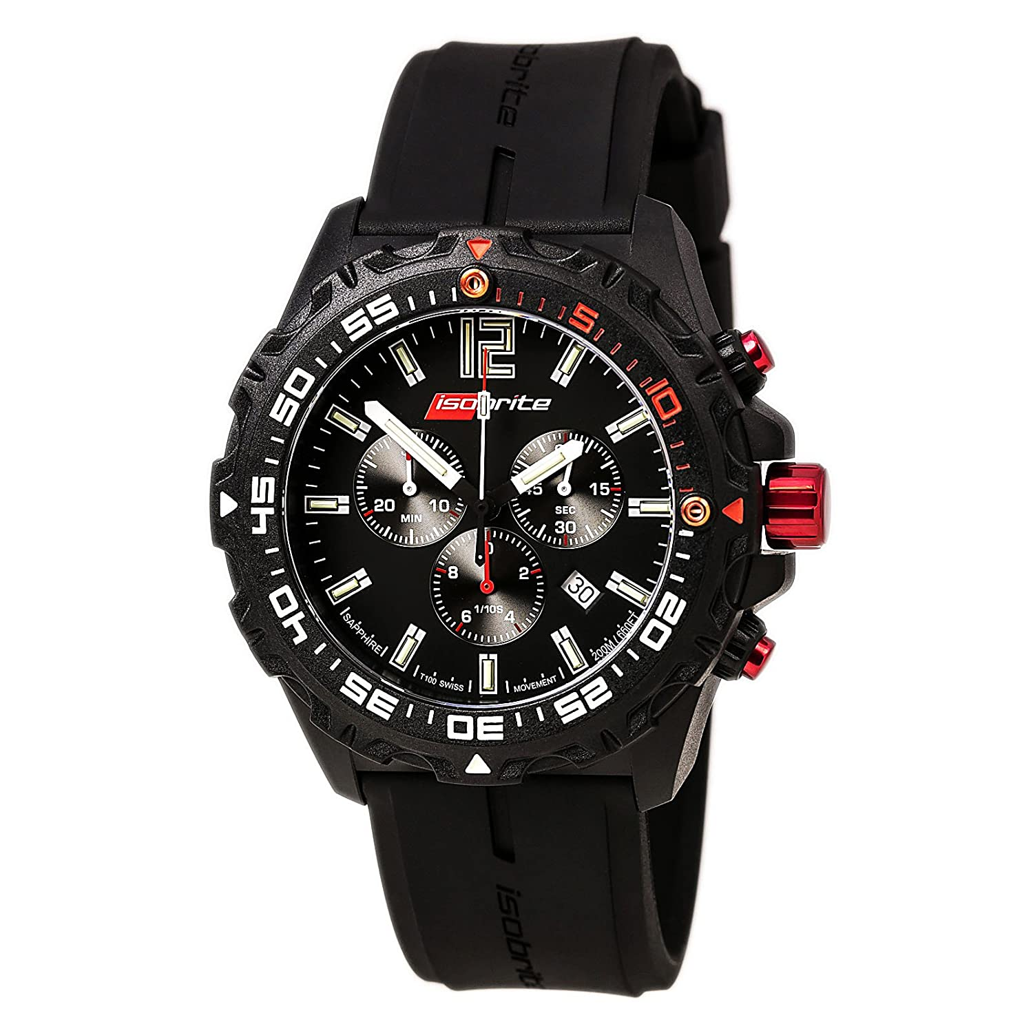 Isobrite Chronograph T100 Tritium Watch