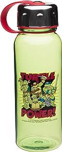 Zak Designs Teenage Mutant Ninja Turtles 24 oz. Wide-Mouth Water Bottle, Ninja Turtles