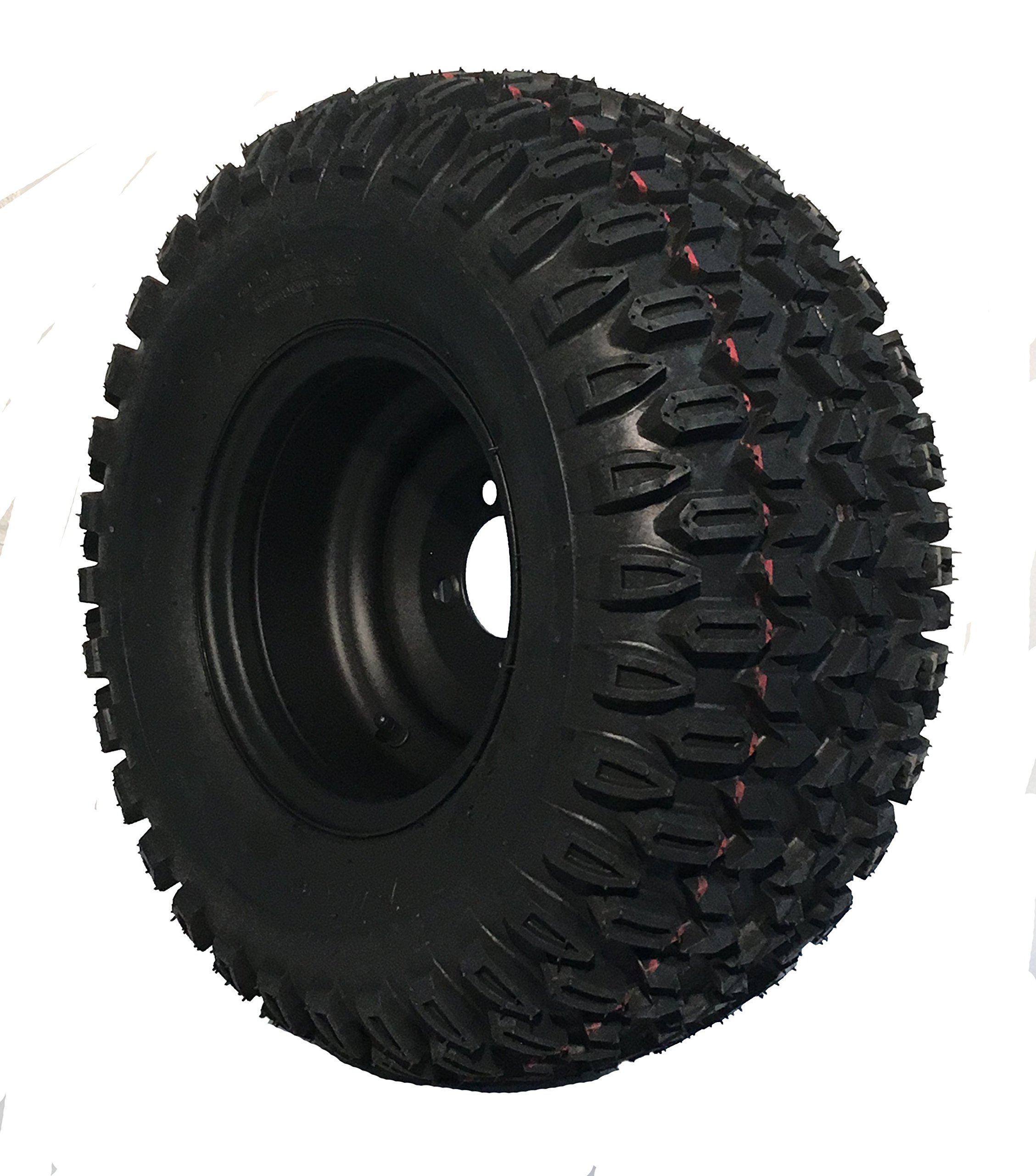 Duro X-Country Tire on Black Steel Wheel 22x11-10 Golf Cart Tire and Wheel Assembly