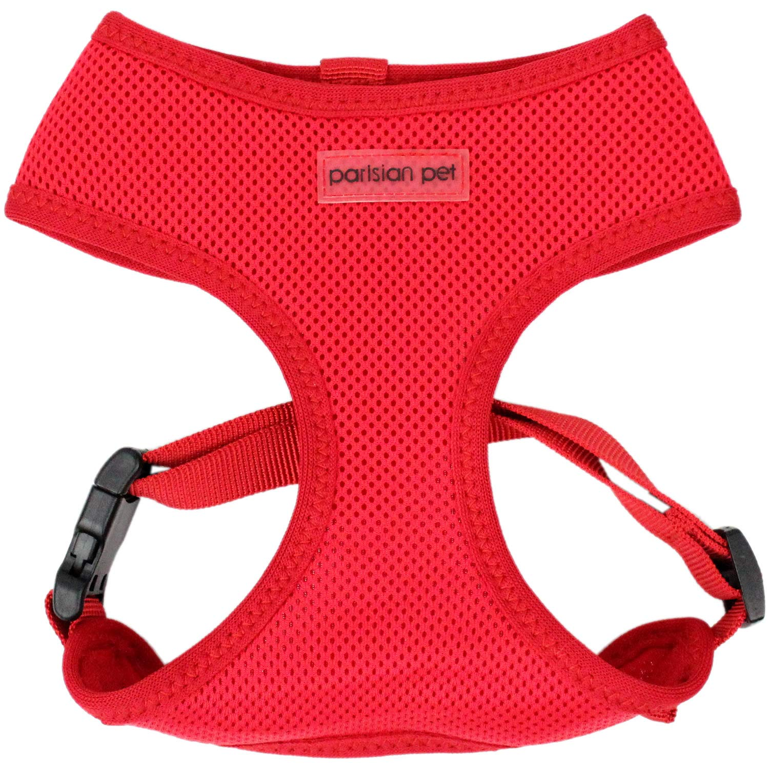 Red XL Red XL Parisian Pet Freedom Dog Harness, XL, Red