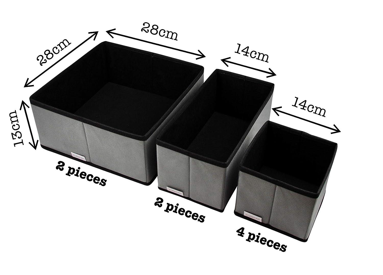 Aufbewahrungsbox Fur Wasche Accessoires Vliesstoff Xdcb6p Grau